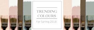 Trending Colours 2018
